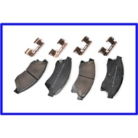 Brake pads, front - 15 inch wheels