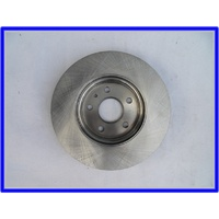 Brake rotor, front - Single, uncoated