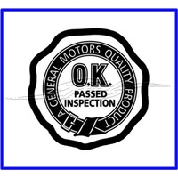 G.M.H OK Check Seal Black 48-V