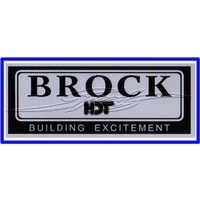 Brock HDT Decal Chrome VL