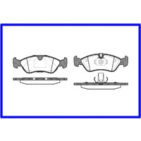 BRAKE PADS GENUINE 91-97 CALIBRA GS1 C20NE C20XE X20XEV & TR ASTRA FRONT 1 SET ONLY RETAIL OVER $200