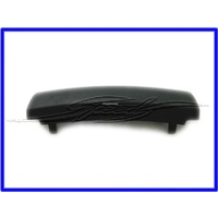 CONSOLE REAR AIR VENT TOP SCREW COVER CAP VE WM CONSOLE COVERS SCREWS BETWEEN REAR AIRVENTS AND ARMREST BLACK