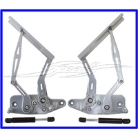 BILLET BONNET HINGE KIT POLISHHOLDEN HK - HT - HG