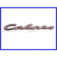 BADGE 'CALAIS' BOOT LID VT CALAIS