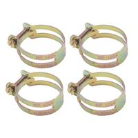 HOSE CLAMP SET UTILUX TYPE 1.5/8 inch  X 4