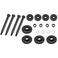 KIT FRONT END MOUNTING RUBBERS & BOLTS F