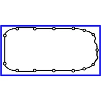 GASKET SUMP OIL PAN SB & XC BARINA 1994 1.4L TO 2002 ALSO TR ASTRA 1994 TO 1999