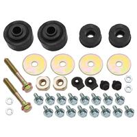 RADIATOR SUPPORT MOUNT KIT HQ-WB ALL WITH BOLTS