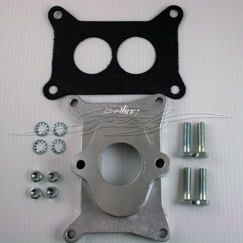 CARBURETTOR ADAPTOR 350 HOLLEY TO ANY 6
