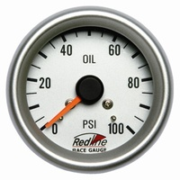 2 5/8 in Mech Oil Pressure Gauge