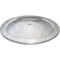 AIR FILTER CLEANER LID ONLY 14inch Chrome