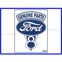 SIGN GENUINE PARTS FORD