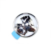 BADGE TAILGATE VY VZ UTE AND CREWMAN HOLDEN LION CHROME