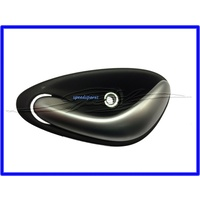 DOOR HANDLE LEFT HAND FRONT INNER VY VZ WK WL ANTHRACITE WITH SATIN CHROME HANDLE