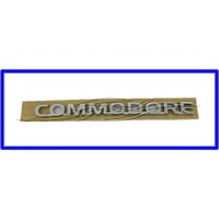 BADGE 'COMMODORE' VY VZ VE BOOTLID