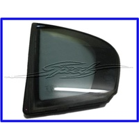 1/4 glass LEFT rear VE SEDAN scedes to 92235191