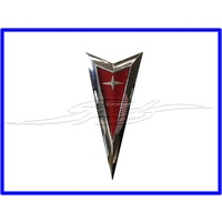BADGE EMBLEM PONTIAC G8 GRILLE SUITS SERIES 1