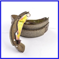 Brake shoes, rear (axle set) - Up to AB999999