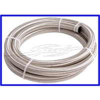 "SAF100-07-4.5M - 100 Series Stainless Steel Braided Hose -7ANAN Size: -7 Hose I.D: 3/8"" (9.6mm) Hose O.D: 5/8"" (15.7mm)"