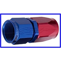 -4AN TAPER SERIES STRAIGHT    HOSE END BLUE