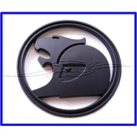 BONNET BADGE VE VF HSV MATT BLACK GENUINE 64MM DIAMETER