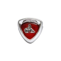 GRILLE BADGE & SURROUND FC (SILVER)