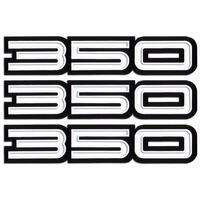 '350' BODY DECAL KIT HQ MONARO GTS (3 PC
