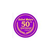 Dealer Decal United Motors 50th Anniversary