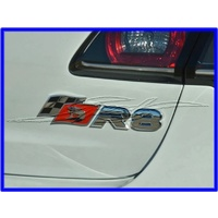 BADGE HSV R8 RED BLACK AND CHROME VF