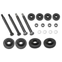 FRONT END MOUNTING RUBBERS & BOLTS KIT EARLY FJ