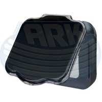 HAYMAN REECE SQUARE TOWBAR TONGUE COVER BLACK