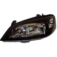 HEADLAMP 01-05 TS ASTRA LEFT BLACK