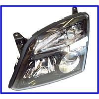 HEADLAMP ZC VECTRA BLACK LEFT