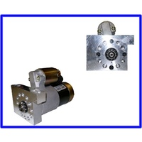 starter motor chev inline movable mount