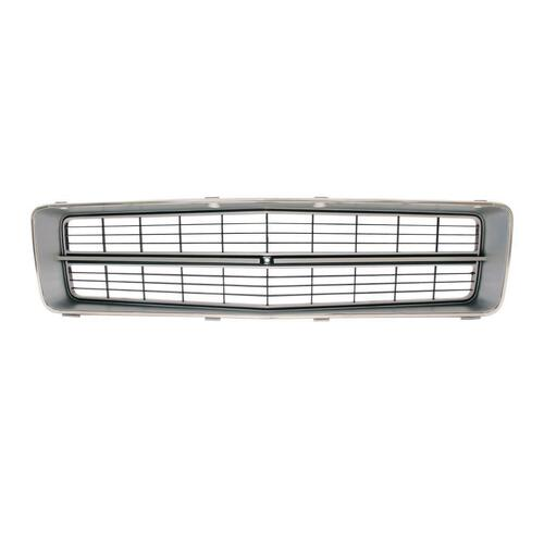GRILLE ASSEMBLY HQ GTS MONARO (BLACK/SIL