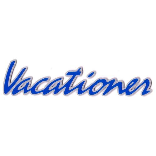 "Decal ""Vacationer"" Boot/TGate VN Commodore"