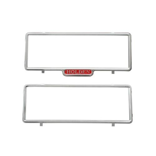 'HOLDEN' NUMBER PLATE FRAMES  'HOLDEN' ON 1 ONLY